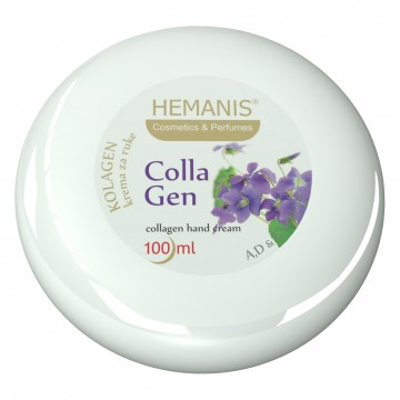 Cream with collagen