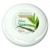 A cream with aloe vera oil