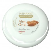 Cream with almond oil